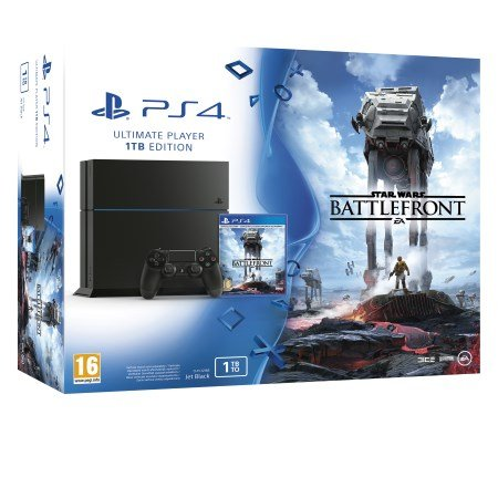 Sony - PS4 1TB +Star Wars Battlefront
