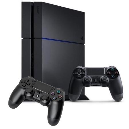 Sony - PS4 1TB + 2 Dualshock