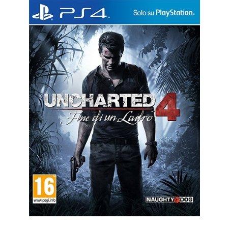 Sony - PS4 Uncharted 4 Fine Di Un Ladro