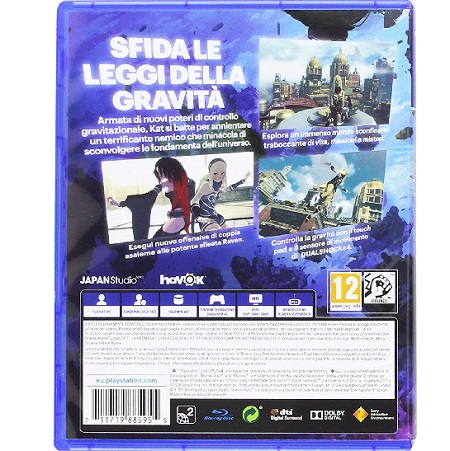 Sony - Ps4 Gravity Rush 29885955