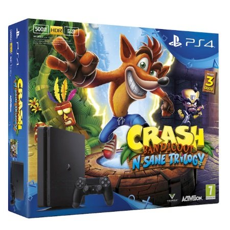 Sony PS4 500 GB Nera - Playstation 4 500Gb Crash Bandicoot - 9866961