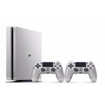 Sony - Playstation 4 500Gb Argento 2 Dualshock - 9848660