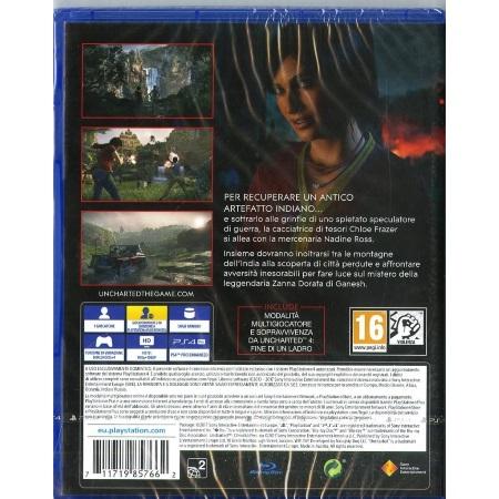 Sony Gioco adatto modello ps 4 - Ps4 Uncharted: Leredita Perduta 9857662