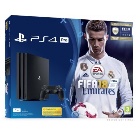 Sony - Ps4 Pro 1Tb + Fifa 18 + Ps Plus 14gg Fi - 9913962