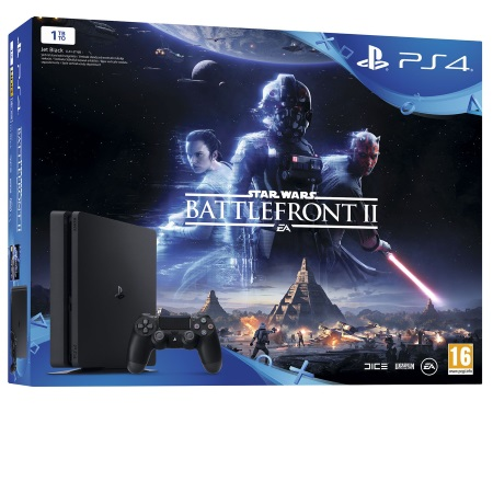 Sony - Ps4 1tb E + Starwars Battlefront II 9964766