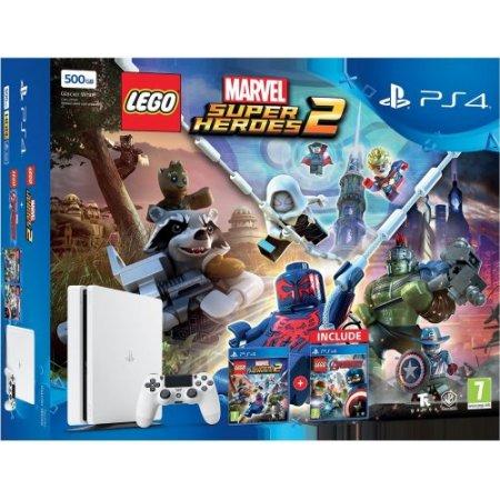 Sony - PS4 +LEGO Marvel Avengers +Super Heroes 2