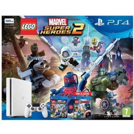 Sony - PS4 +LEGO Marvel Avengers +Super Heroes 2