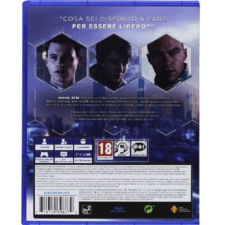 Sony - Ps4 Detroit Become Human 9396772