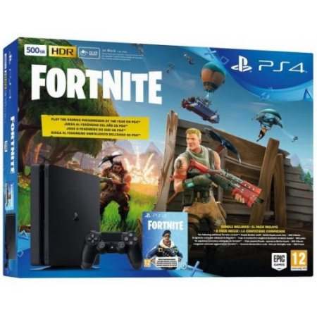 Sony Console fissa - Ps4 500gb + Fortnite Voucher 9723417