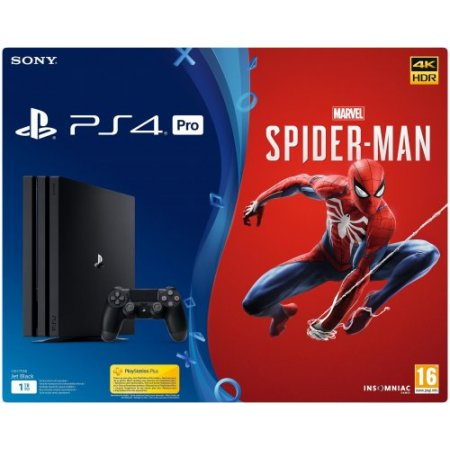 Sony - 9406273 Console Ps4 Pro + Marvels Spider-man