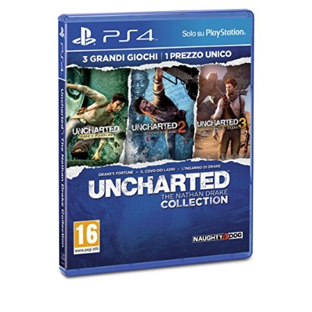 Sony Gioco adatto modello ps 4 - PS4 Uncharted The Nathan Drake Collection