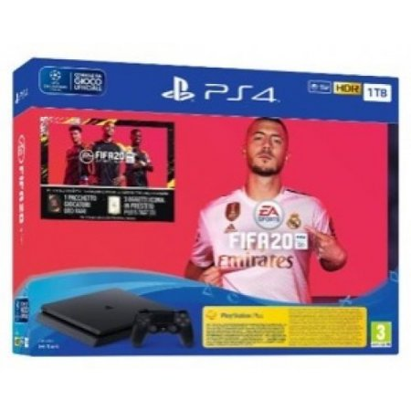 Sony Console fissa - Ps4 1tb + Fifa 20 9974901
