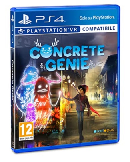 Sony Gioco adatto modello ps 4 - Ps4 Concrete Genie 9754312