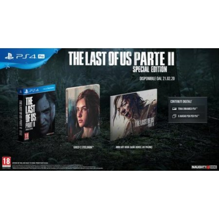 Sony Gioco adatto modello ps 4 - Ps4 The Last Of Us: Part Ii Special Edition