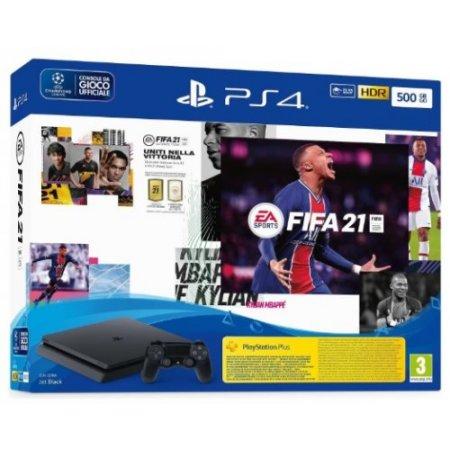 Sony Console PS4 - Ps4 500gb + Fifa21 + Fut 21 Vch