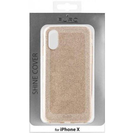 """Puro Cover smartphone fino 5.8 """" - Ipcxshinegold"""