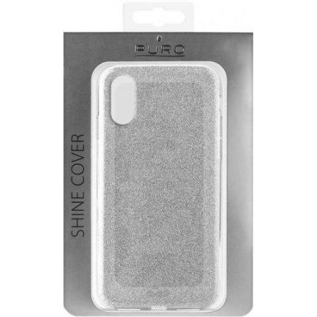 """Puro Cover smartphone fino 5.8 """" - Ipcxshinesil"""