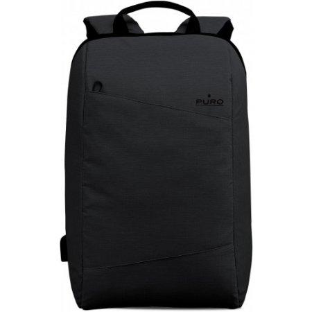 """Puro Zaino pc portatile fino 15.6 """" - Bpbyday1blk Nero"""