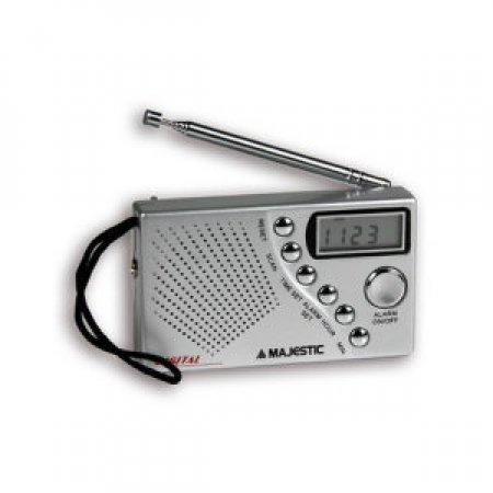MAJESTIC Radio portatile FM a scansione automatica - RTD 0453S