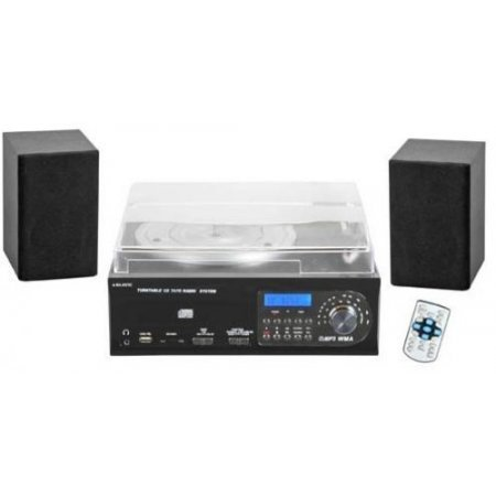Majestic Giradischi mp3 - Tt-38 Cd/tp/usb/sd