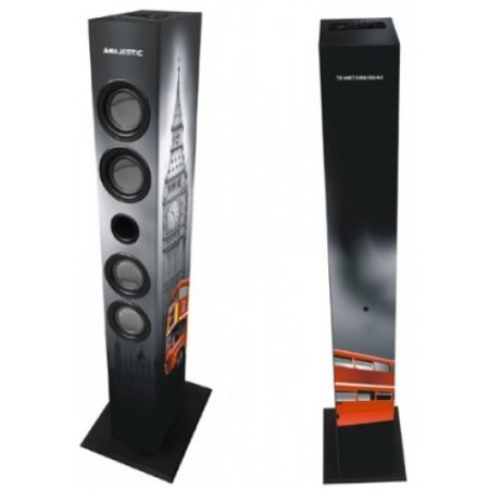 Majestic Casse acustiche 2 vie - Ts-85 Bt Usb Sd Ax Uk Nero