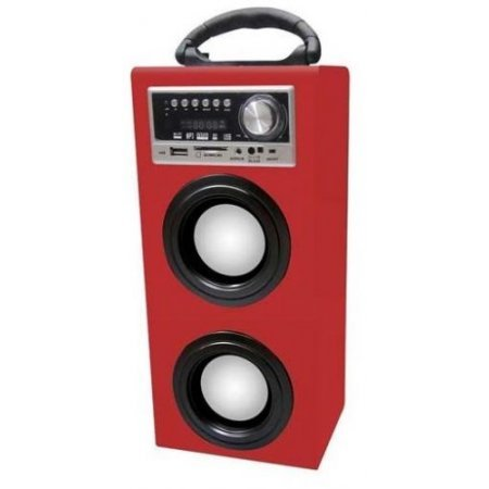 Majestic Casse acustiche - Ts-78 Bt Usb Sd Ax  Rosso