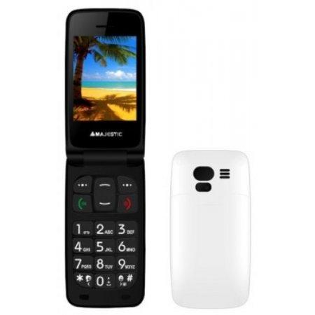 Majestic Cellulare Quadband - Tlf-sileno41n Bianco