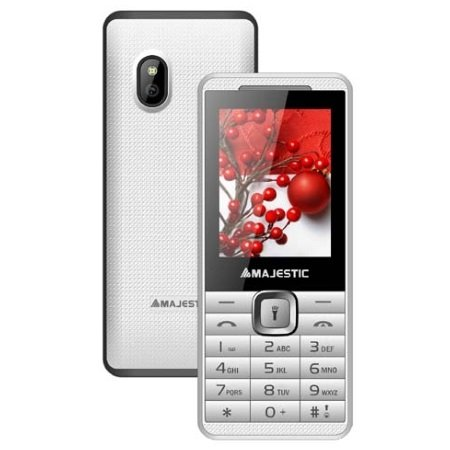 Majestic Cellulare Dualband - Tlf-lucky 46 bianco