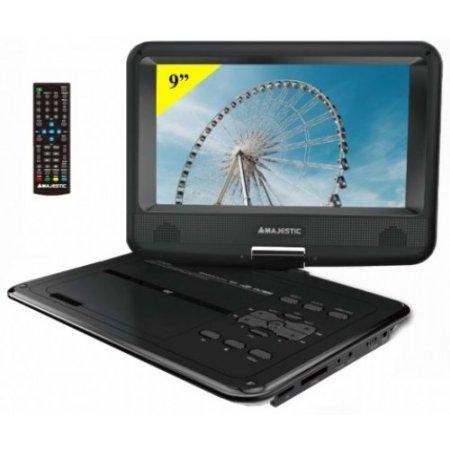 Majestic Dvd portatile - Dvx-262d/usb/recbk