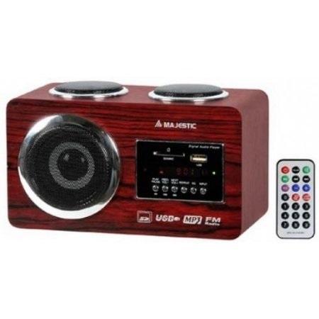 Majestic Radio digitale - Ah-173 Usb Sd Legno