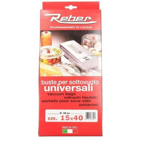 Reber - Buste per sottovuoto Universali 15x40 - 6730 N