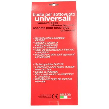 Reber 40 Buste per sottovuoto - Buste per sottovuoto Universali 15x40 - 6730 N