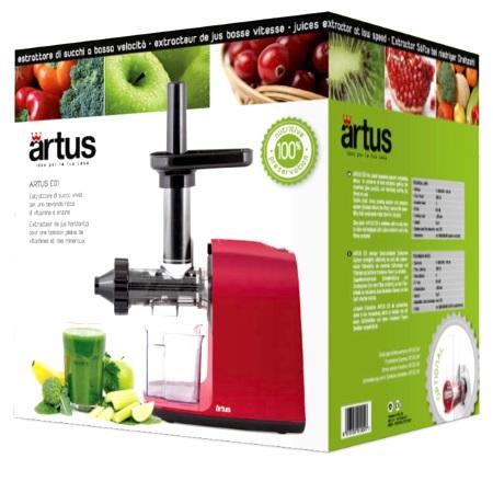 Reber Estrattore di succo a bassa velocità - Artus E01