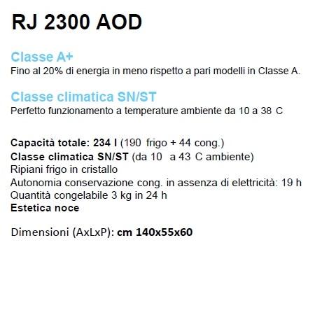 ELECTROLUX Frigorifero Doppia porta - REX - RJ2300AOD
