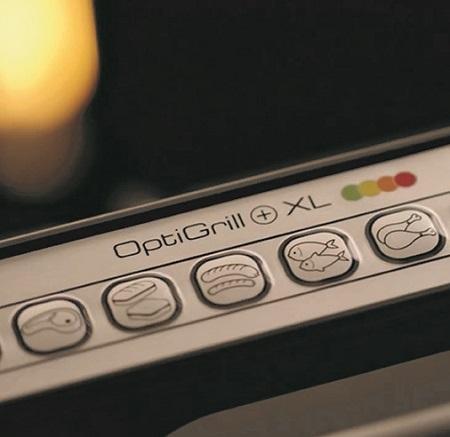 """Rowenta Tecnologia """"sensore automatico di cottura"""" - Optigrill+ XL Gr722d"""