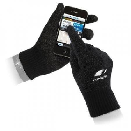 RUNTASTIC Guanti per Display Touchscreen - SPORT GLOVES TAGLIA S