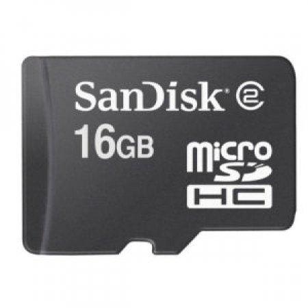 SANDISK Scheda di memoria microSD - SDSDQ 016G E11M