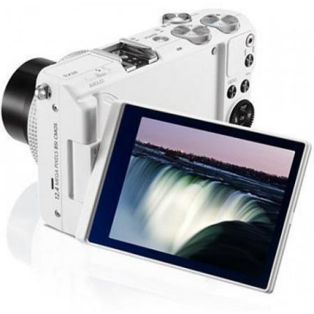 Samsung Fotocamera compatta - Ex2f Bianco
