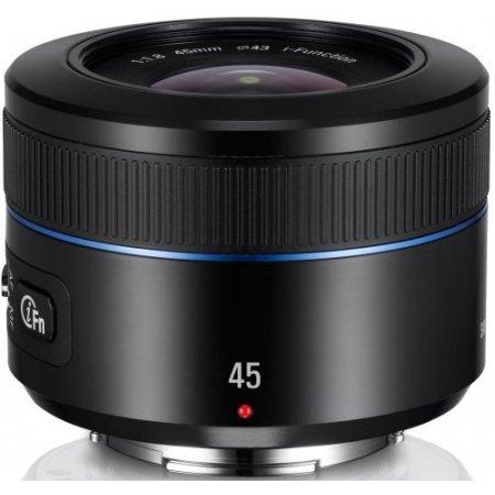 Samsung - NX 45mm F1.8 Prime Lens Ex-s45anb