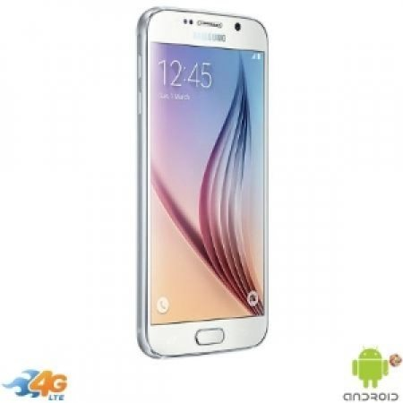 Samsung - Galaxy S6 32GB SM-G920 White