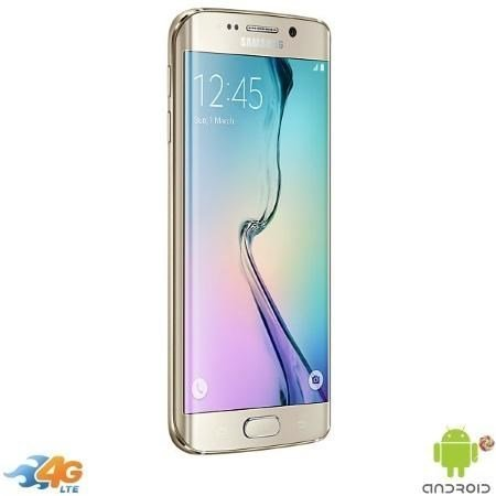 SAMSUNG - GALAXY S6 EDGE 64GB SM-G925 GOLD
