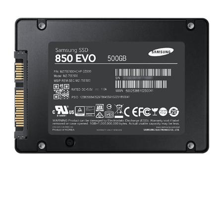 Samsung SSD interno - SSD 850 Evo 500GB