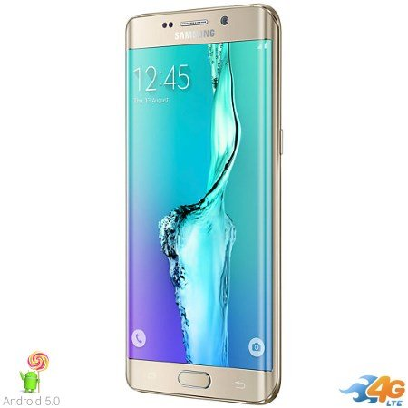 Samsung - Galaxy S6 Edge+ Gold 32gb