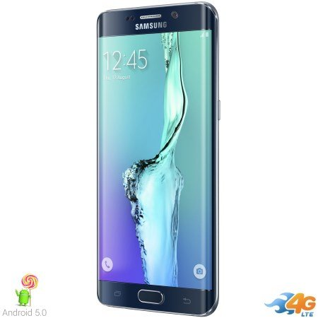 Samsung - Galaxy S6 Edge+ Black 32gb