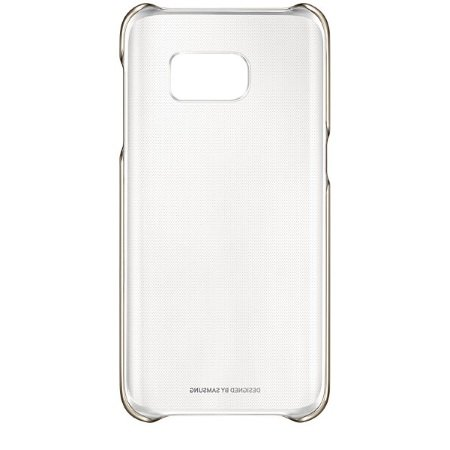 Samsung - Clear Cover Gold Galaxy S7