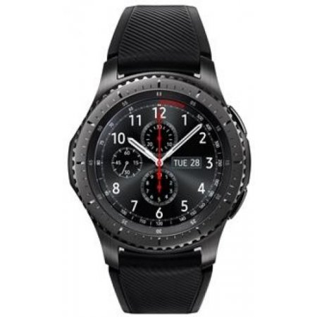 Samsung - Gear S3 Frontiersm-r760ndaaitv Nero