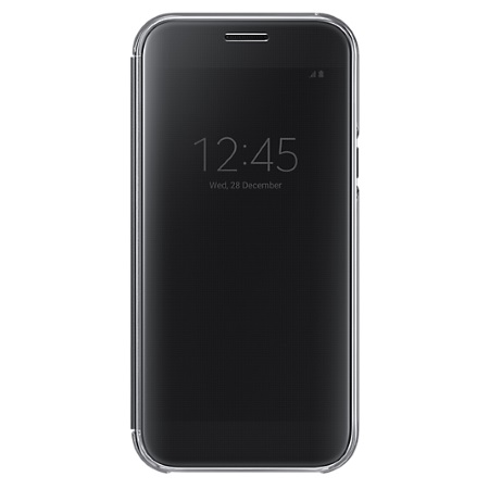 Samsung Custodia Clear View - Clear View Cover Black A5 2017