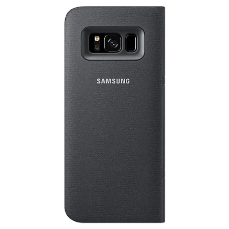 Samsung Cover per Galaxy S8 - Galaxy S8 LED View Cover Nera EF-ZG950