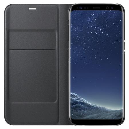 Samsung - Galaxy S8 LED View Cover Nera EF-ZG950
