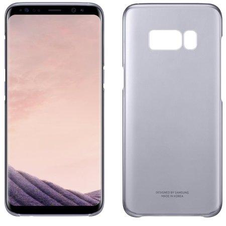 Samsung Cover posteriore per Galaxy S8 - Galaxy S8 Clear Cover Violet Ef-qg950